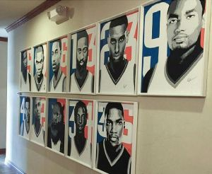 Ray's portraits of the OKC Thunder. Full collection on display
