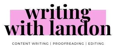 Writing With Landon